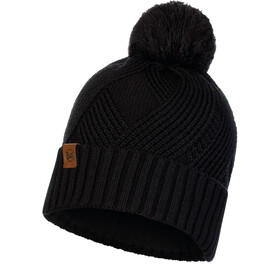 Buff Lifestyle Knitted and Polar Fleece Hat raisa black